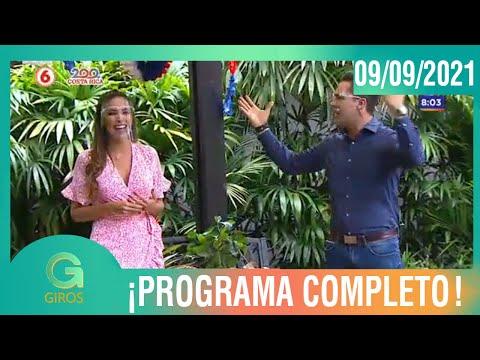 Giros: Programa del 09 de Setiembre del 2021