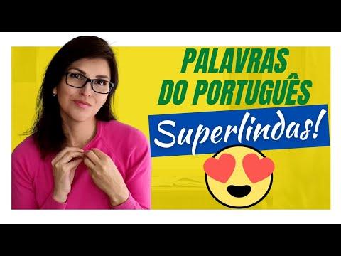 As 12 palavras MAIS BONITAS do português!