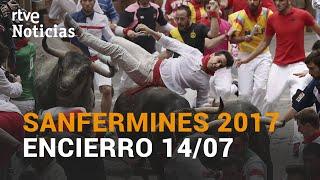 El MÁS RÁPIDO. LOS MEJORES ENCIERROS DE SAN FERMÍN   14 de julio de 2017   RTVE