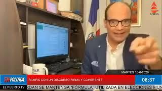 RAMFIS DESCARTA ALIANZA CON PARTIDOS TRADICIONALES