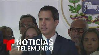 EE.UU. y México rechazan a presidente oficialista de parlamento venezolano   Noticias Telemundo