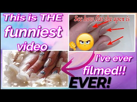 Doing My God Daughters Nails & The Funniest Video I've EVER Filmed | ABSOLUTE NAILS