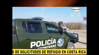 El Covid-19 altera procedimientos de solicitud de refugio de nicaragüenses en Costa Rica