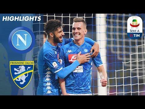 أهداف مباراة نابولي وفروزينوني 4-0 - البطولة الايطالية