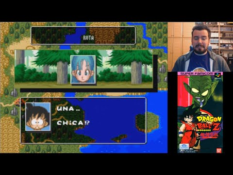 DRAGON BALL Z: SUPER GOKUDEN TOTSUGEKI-HEN (Super Nintendo) - Gameplay en Español SNES