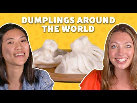We Tried Dumplings from Around the World | TASTE TEST