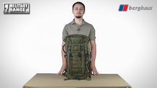 video - Batoh BERGHAUS CENTURIO FA - Military Range CZ/SK