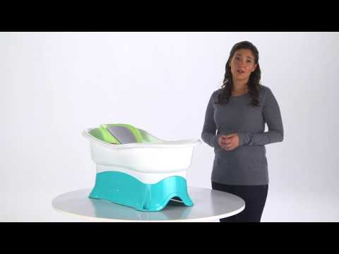 Summer Infant Comfort Height Bath Center With Step Stool Product Video