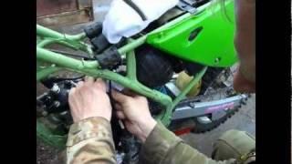 KX80 Disembly of thepiston system KX80 1997 - YouTube on