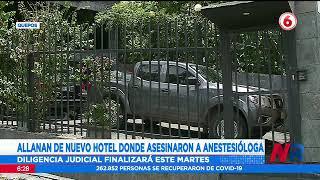 Allanan de nuevo hotel donde asesinaron a anestesióloga