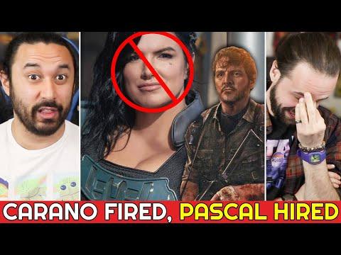 SHOULD GINA CARANO HAVE BEEN FIRED? Last Of Us Casts Pedro Pascal As Joel! (Mandalorian Season 3)