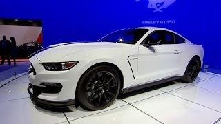 Car Tech - 2014 LA Auto Show: Ford Shelby GT350