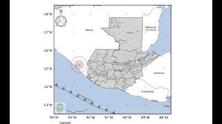 Éstos son los datos del sismo de este lunes