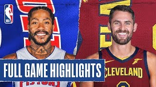 PISTONS at CAVALIERS | FULL GAME HIGHLIGHTS | January 7, 2020
