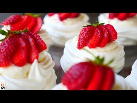 Творожное Пирожное с Клубникой | Обязательно Приготовьте эту ВКУСНЯТИНУ!!!