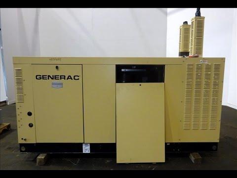 Used- Generac 150kW Natural Gas Generator Set - stock # 48703001