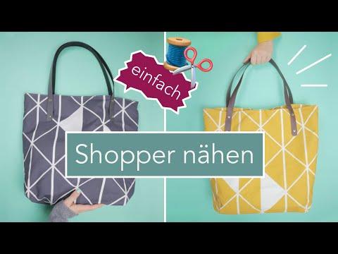 Oilskin Shopper Ona nähen (einfach)   DIY Eule Stoff!!!