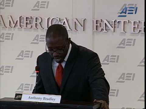 Anthony Bradley on Social Justice I