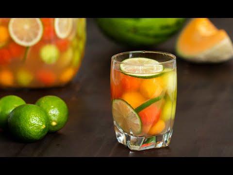 Sparkling Melon Ball Sangria  ?Tasty Recipes