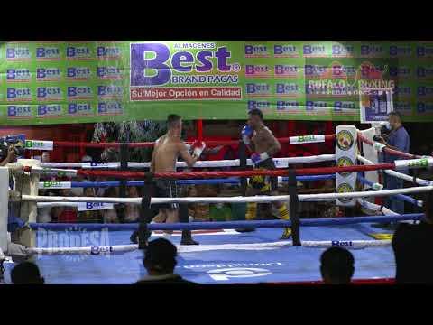 Moises Olivas VS Israel Lopez - Bufalo Boxing Promotions