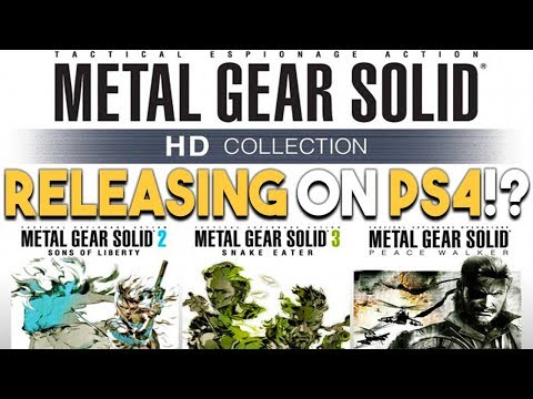 Metal Gear Solid Collection to PS4!? and AWESOME PS4 GAME DEALS Right Now!