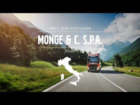 Volvo Trucks - Always on the hunt for eco-friendly solutions ? Meet our Customer: Monge & C Spa