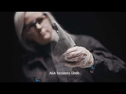 AGA becomes Linde – Two companies. One shared name.
