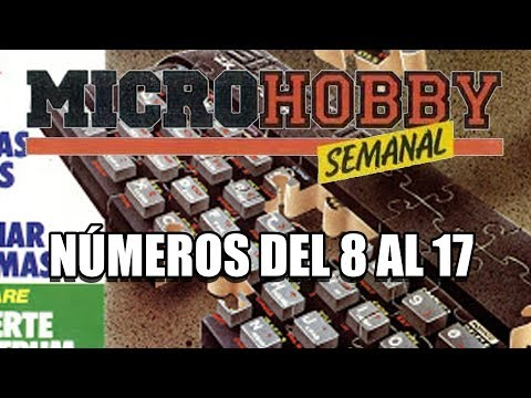 REVISTA MICROHOBBY COMENTADA Numeros 8 AL 17