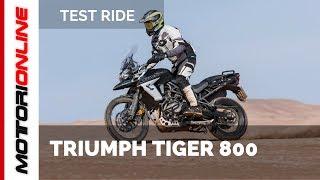 Triumph Tiger 800 XC  XR 2018 | Test ride