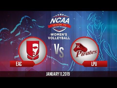 NCAA 94 Women's Volleyball: EAC vs. LPU | January 11, 2019