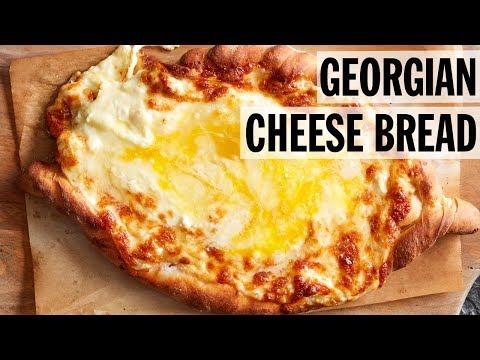 Georgian Cheese and Egg Bread (Adjaruli Khachapuri)   Food Network
