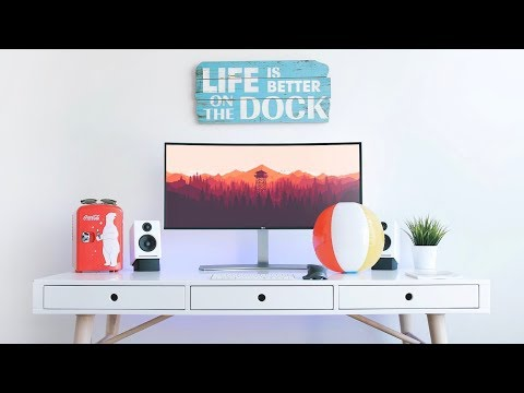 Ultrawide Desk Setup Tour! (2017)