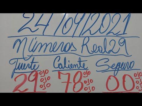 NUMEROS PARA HOY 24/09/2021 DE SEPTIEMBRE PARA TODAS LAS LOTERIAS