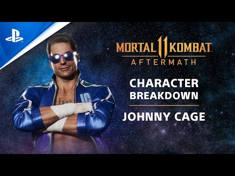 Mortal Kombat 11 Aftermath - Competition Center Character Breakdown: Johnny Cage | PS4