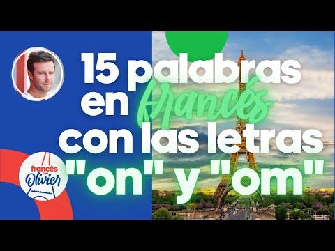 """Aprende francés en 30 días: 15 palabras con las letras """"on"""" + """"om"""" - Clase 29"""