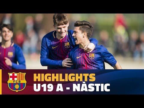 [HIGHLIGHTS] FUTBOL (Juvenil A): FC Barcelona – Nàstic (3-1)