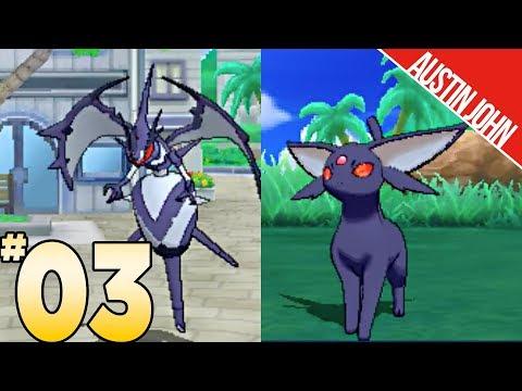 SHADOW EEVEE EVOLUTION, Black Jacket Naganadel, & More! Pokemon ultraLOCKE EP3 | Austin John Plays