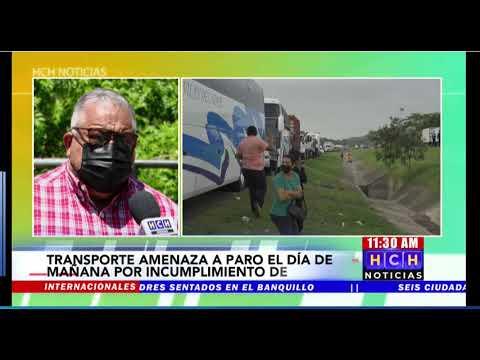 "¡Cansados de ""paja"" estatal! Transportistas a paro este martes a nivel nacional"