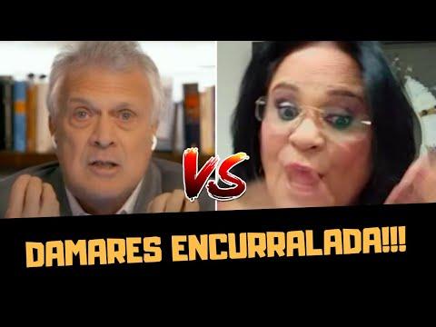 DAMARES ENCURRALADA EM CONVERSA COM BIAL!!!