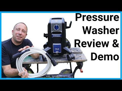 Westinghouse ePX3000 Pressure Washer Assembly, Demo, and First Impressions