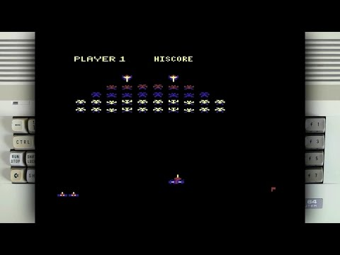 Galaxian on the Commodore 64