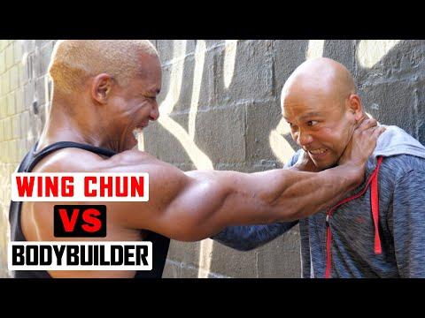Wing Chun vs Bodybuilder ✅  lesson 2