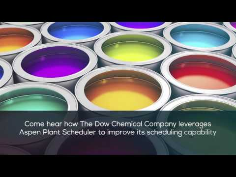 Dow Chemical Makes Better Scheduling Decisions in its Coatings and Polyurethanes Businesses with Asp