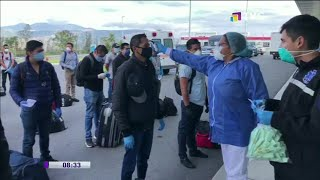 Ecuatorianos varados en Bolivia y Chile buscan regresar al país