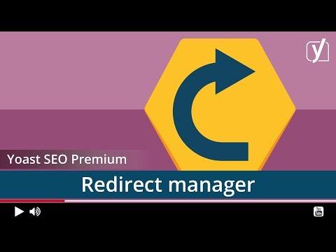 Yoast SEO Premium: redirects module