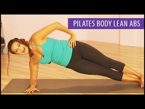Lean Abs Workout: Pilates Body- Gabrielle