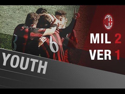 AC Milan-Hellas Verona 2-1 | AC Milan Youth Offici…