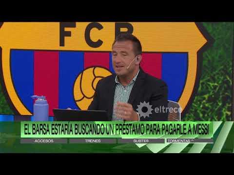 Barcelona busca quien le preste plata para pagarle a Messi porque está fundido