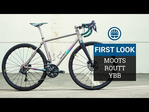 """Are The 90's Back""""!   Moots' Amazingly-Anodised Soft-Tail-Equipped Gravel Bike"""