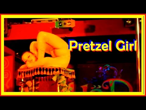Contortion Pretzel Girls